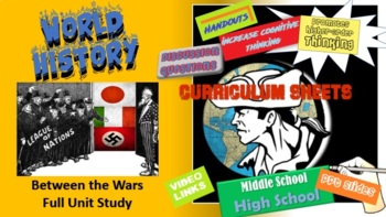 Honors World History - Between the Wars -  Flipped Unit (Bundled)