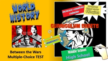Honors World History - Between the World Wars Test