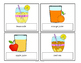 Beverage Vocabulary Cards - FREEBIE!
