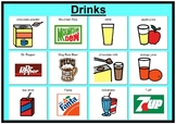 Beverages/Drinks matching boards
