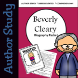 Beverly Cleary Biography and Author Study