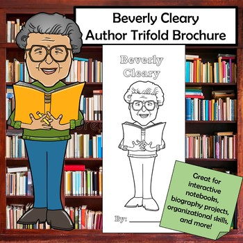 Beverly Cleary Biography Trifold Brochure