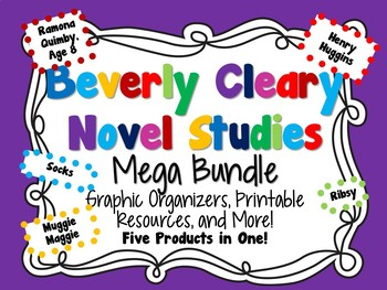 Beverly Cleary Novel Studies Mega Bundle