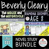 The Mouse and the Motorcycle and Ramona Quimby Age 8 Novel Study Bundle