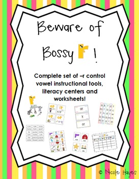 Beware of Bossy R- Ultimate Instructional Pack