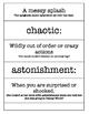 Beware of the Bears! - Text Talk - Test Prep - Vocabulary