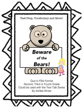 Beware of the Bears! - Text Talk - Test Prep - Vocabulary