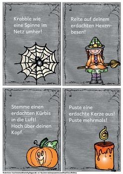 Bewegungspausen Halloween