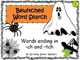 Halloween Word Search Bewitched Words