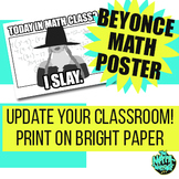 Beyonce I SLAY Poster