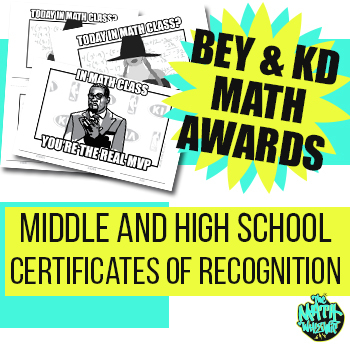 Beyonce KD Certificate Award