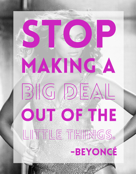 Beyoncé Motivational Classroom Poster