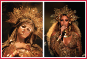 Beyoncé and Art History Poster