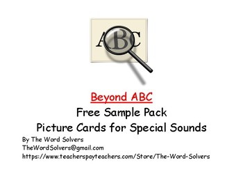 Beyond ABC Picture Cards ~ Sample Pack