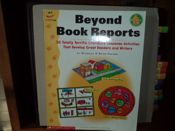 Beyond Book Reports  ISBN 0-590-76991-X