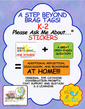 Beyond Brag Tags, Sustain Learning with Please Ask Me About... Stickers