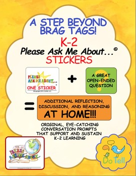 Beyond Brag Tags, Sustain Learning with Please Ask Me Abou