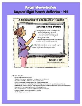 Beyond Sight Word Activities Nouns 2