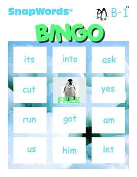 Beyond Sight Words Activities B