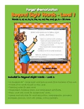 Beyond Sight Words, Level 1