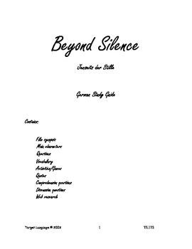 Beyond Silence-German Study Guide