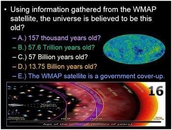 Beyond Solar System, Galaxies, Big Bang Lesson