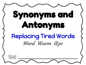 Beyond Synonyms and Antonyms
