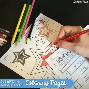Middle School Math Activities Bundle