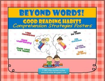 Reading Strategies Posters - {Good Reading Habits}
