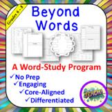Beyond Words - Grades 6 - 8
