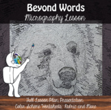 Beyond Words - Micrography Drawing with Ink - Word Art