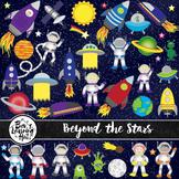 Beyond the Stars Space Clip Art Set