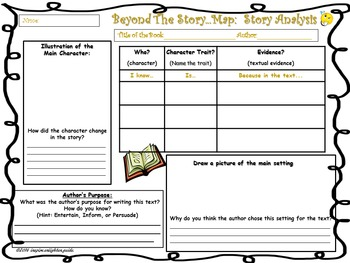 Beyond the Story Map:  Story Analysis