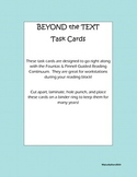 Beyond the Text Task Cards
