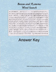 Bezus and Ramona Word search