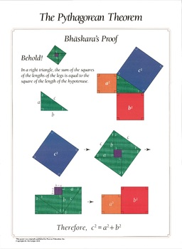 Bhaskara's Proof of the Pythagorean Theorem