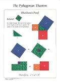 Bhaskara's Proof of the Pythagorean Theorem