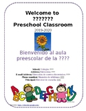 Bi-Lingual Student and Family Welcome Packet