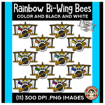 Rainbow Bees - Airplanes!