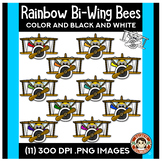 Rainbow Bees - Airplanes!