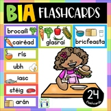 Bia Flashcards with pictures - Gaeilge - Food