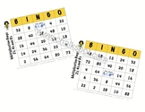 Multiplication Bingo (Multiples of 2, 4, & 8): CCSS Aligned