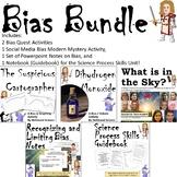 Bias Bundle- PowerPoint Notes, Interactive Notebook/Guidebook, and 3 Activities!
