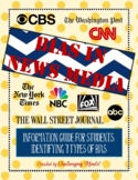 Bias In News Media Student Guide & Activity - PDF & Google Doc Formats