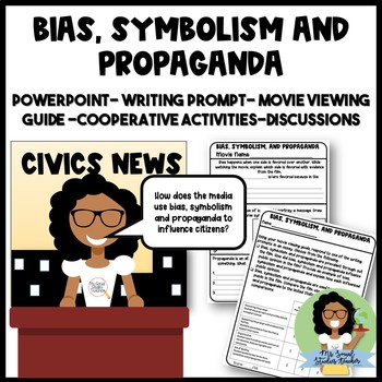 Bias, Symbolism and Propaganda Lesson, PowerPoint and Mosnter's Inc Activity