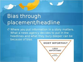 Bias in the Media Powerpoint Presentation