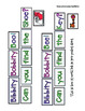 Bibbity Bobbity Boo Pocket Chart Activity