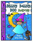 Bibbity Bobbity Boo Pocket Chart Activity