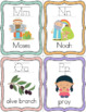 Bible ABC Alphabet Flashcards - Tracing Letters