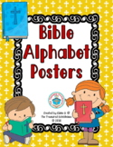 Bible ABC Alphabet Posters